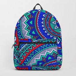 Hippie mandala 28 Backpack
