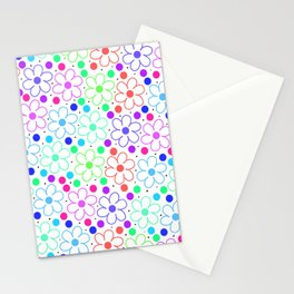 FUN FLOWERS Stationery Cards