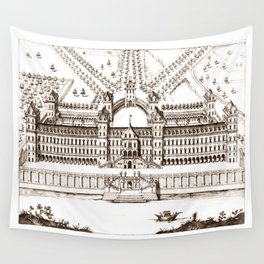 Castle old vintage Wall Tapestry