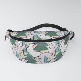 Bunnies and Trees 2 (Cute Buns) Fanny Pack