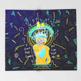 The Games People Play Throw Blanket