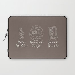 Animal Cell, Plant Cell, and DNA Science Fun Laptop Sleeve