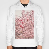 cherry blossoms Hoodies featuring Cherry Blossoms by Vivienne Gucwa