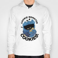 cookies Hoodies featuring COOKIES! by SwanniePhotoArt