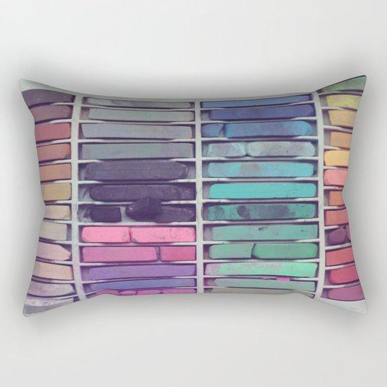 Pastels Rectangular Pillow