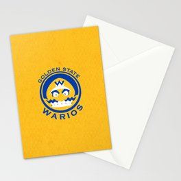 Golden State Warios - Mushroom Kingdom Champs Stationery Cards