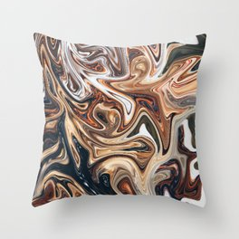 Pound the Ground Throw Pillow