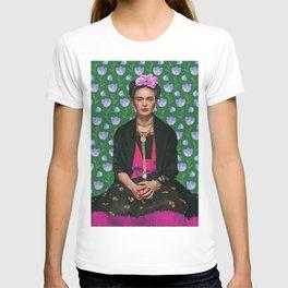Flowers Frida Kahlo I T-shirt