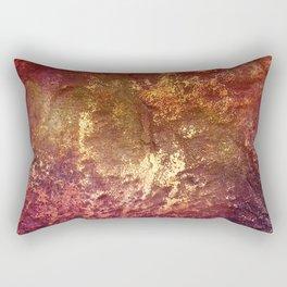 Gold Bedrock Rectangular Pillow
