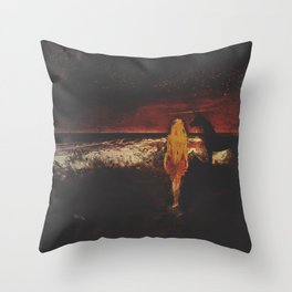 Unicorn Point Throw Pillow