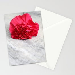 One Pink Carnation Stationery Cards