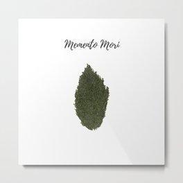Remember to die: memento mori Metal Print