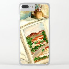 Stories (Histórias) Clear iPhone Case