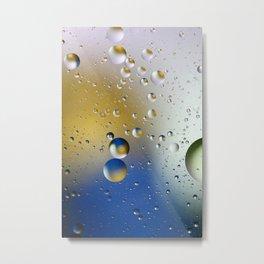 Bubble 6 Metal Print