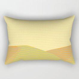 California Hills (Horizontal) Rectangular Pillow