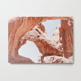 Desert Arches Metal Print
