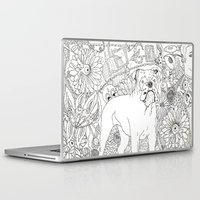 trippy Laptop & iPad Skins featuring Trippy by Kandus Johnson