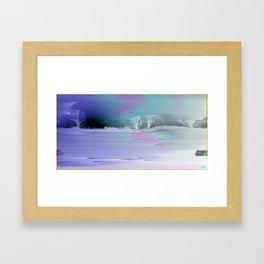 Winter Vector Framed Art Print