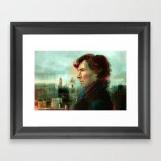 Breathe it in... Framed Art Print