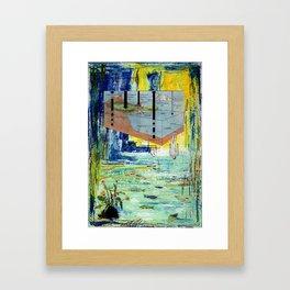 The Dive Framed Art Print
