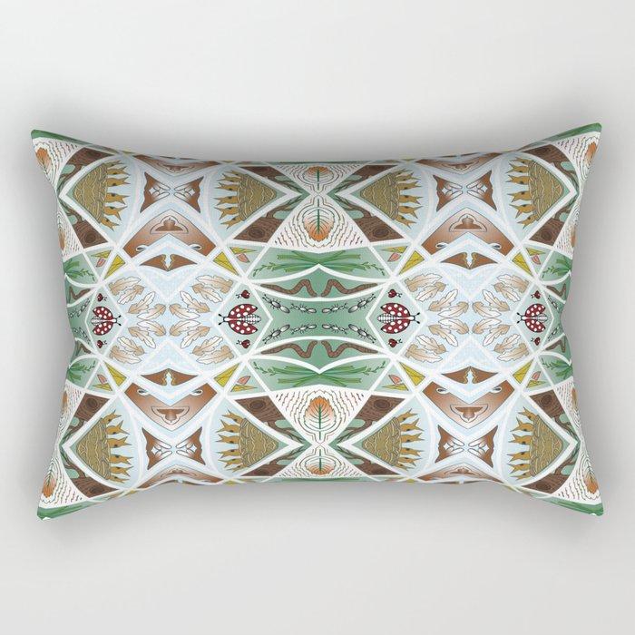 My Backyard Rectangular Pillow
