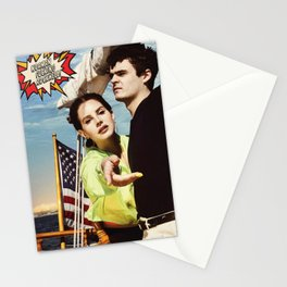 lana del ray rockwell 2021 Stationery Cards