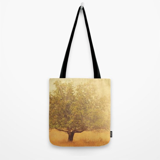tree photograph. Solitude.  Tote Bag
