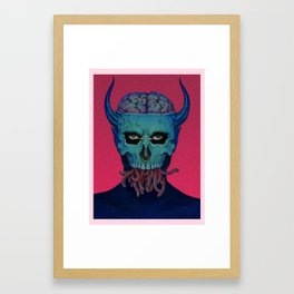 Welcome, Friend Framed Art Print