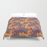 rave Duvet Covers featuring Rave from nineties by Saprykinandrey