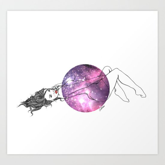 We Are All Made of Stardust #4 Art Print