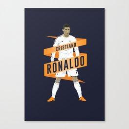Cristiano Ronaldo - Real Madrid  Canvas Print
