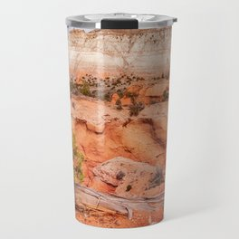 Hanging on the cliff at Kodachrome Basin State Park Travel Mug