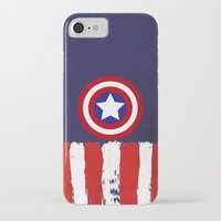 "steve rogers iPhone & iPod Cases featuring Captain ""Steve Rogers"" America by Some_Designs"