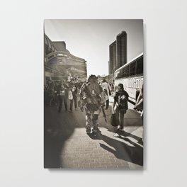walkaway Metal Print