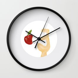 iLove Apple Wall Clock