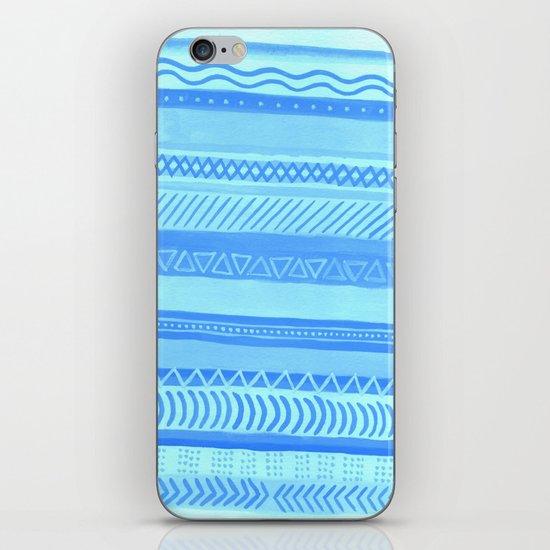Tribal#1 (Blue) iPhone Skin