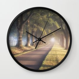 To The Manor Wall Clock
