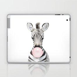 Bubble Gum Zebra Laptop & iPad Skin