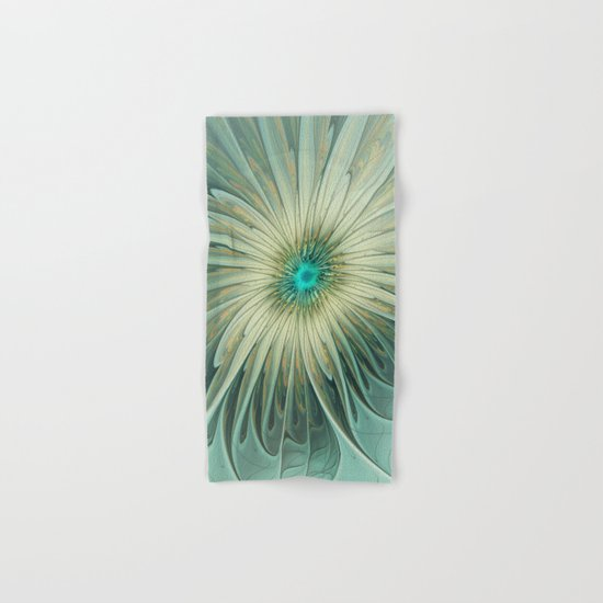 Emotions of a Flower, Abstract Fractal Art Hand & Bath Towel
