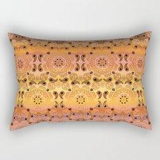 Golden Haze Bandana Rectangular Pillow