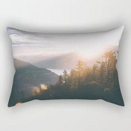 Early Mornings II Rectangular Pillow
