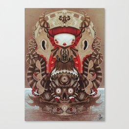 """Kokeshi Doll"" Canvas Print"
