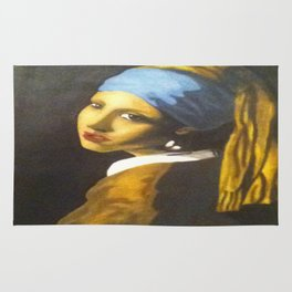 Girl with the Pearl Earring Original Rug
