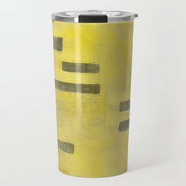Stasis Gray & Gold 3 Travel Mug