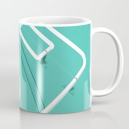 Neon Turntable 3 - 3D Art Coffee Mug