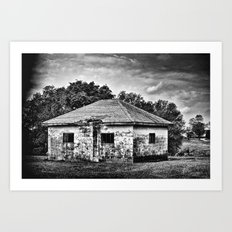 The Place Where it Happened Art Print