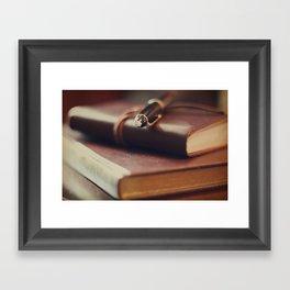 Journaling Framed Art Print