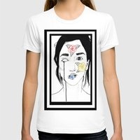 murakami T-shirts featuring Norwegian Wood by Primary Color