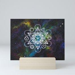Metatron's  Cube Mini Art Print