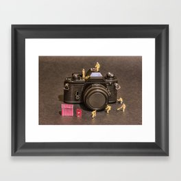 The Focus On Film Corporation Framed Art Print